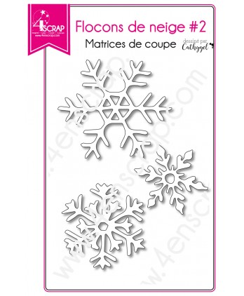 Cutting die Scrapbooking Card making christmas winter - Snowflakes 2