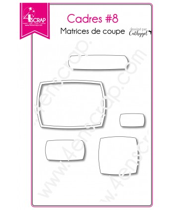 Cutting die Scrapbooking Card making label - Frames 8