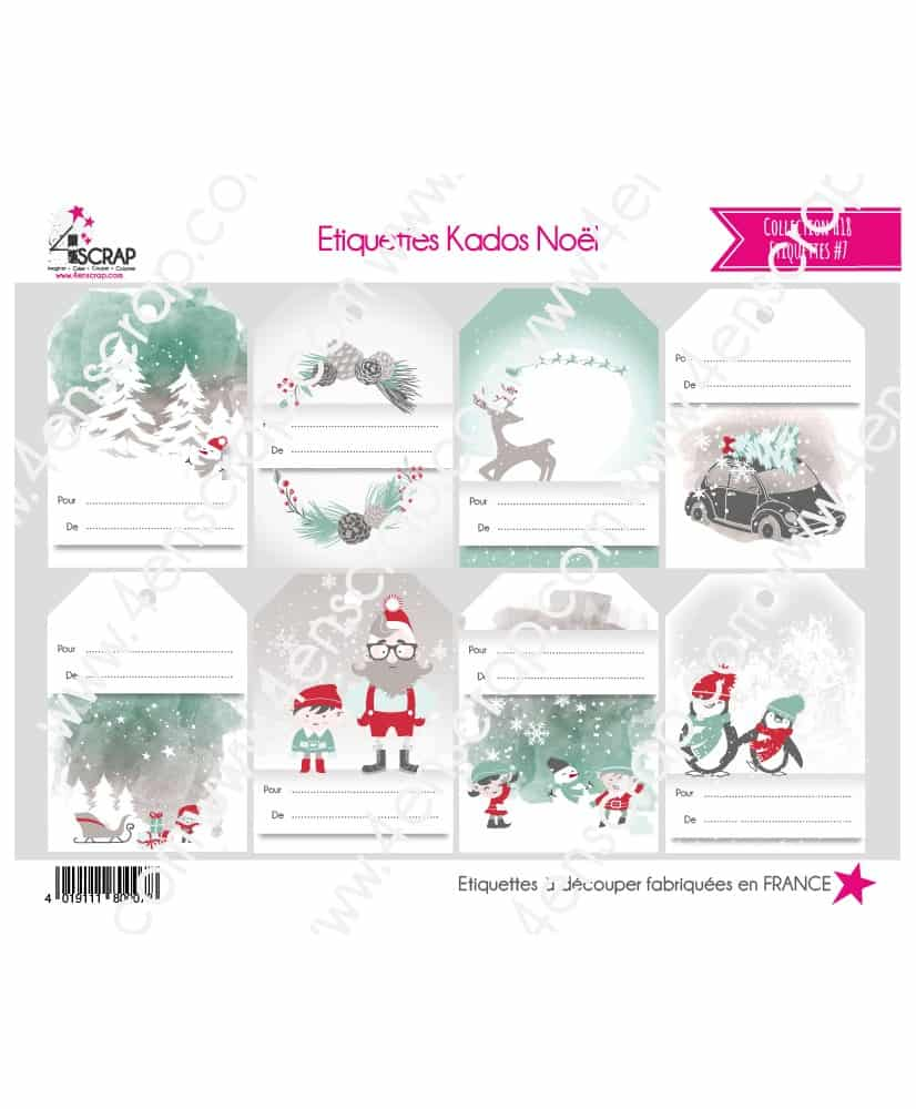 Cutting Label Scrapbooking Card making - Christmas Gifts Labels