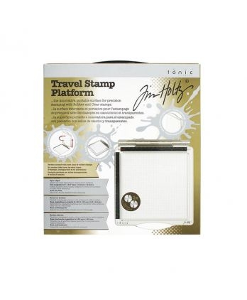 Tool Scrapbooking Card making Plate Precision Stamping - Travel Stamp Platform