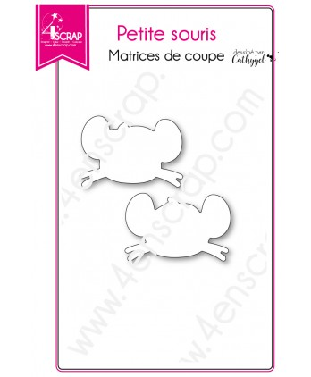 Cutting die Scrapbooking Card making Child Animal Tooth - Little Mouse