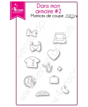 Cutting die Scrapbooking Card making Clothe Doctor Mouse - In My Closet 2