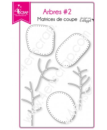 Cutting die Scrapbooking Card making Nature Branch Trunk - Trees 2
