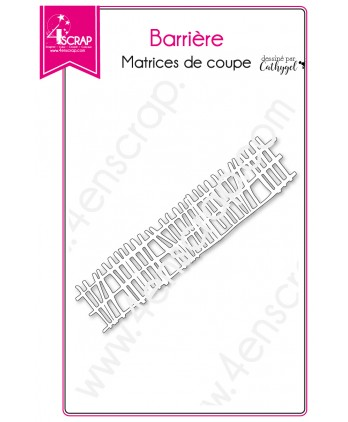 Cutting die Scrapbooking Card making Fence Farm - Barrier