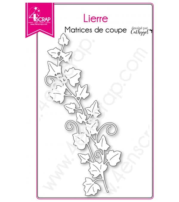 Matrice de coupe Scrapbooking Carterie tige printemps nature - Lierre