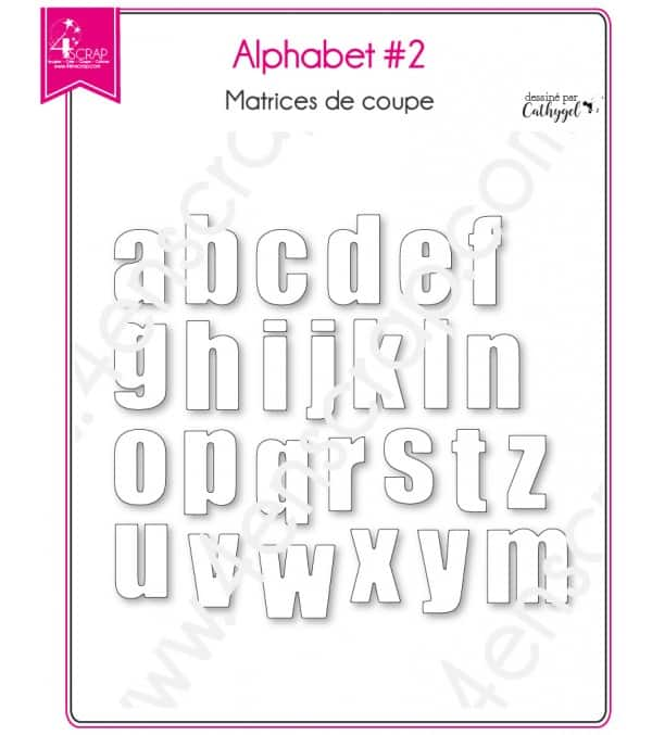 Cutting Die Scrapbooking Card Making Lowercase Letter Word Alphabet 2