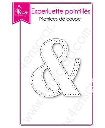 Cutting die Scrapbooking Card making Special Character - Dotted Ampersand