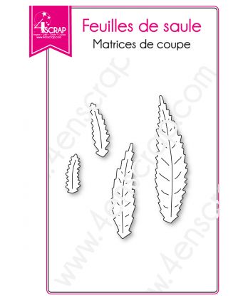 Cutting die Scrapbooking Card making Nature Tree - Willow Leaves