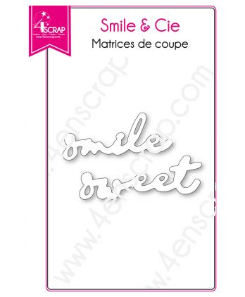 Cutting die Scrapbooking Card making Sweet Word - Smile & Co