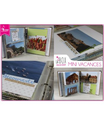Box Scrapbooking Carterie - Mini vacances