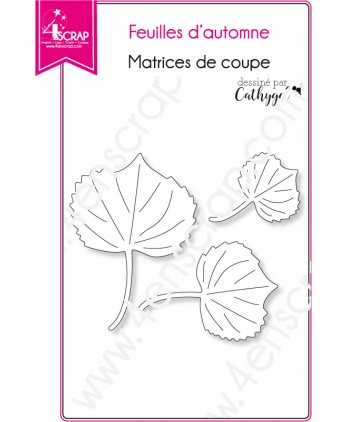 Cutting die Scrapbooking Card Making nature - Fall leaves