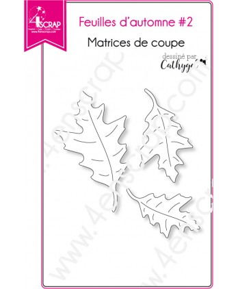Cutting die Scrapbooking Card Making nature - Fall leaves 2