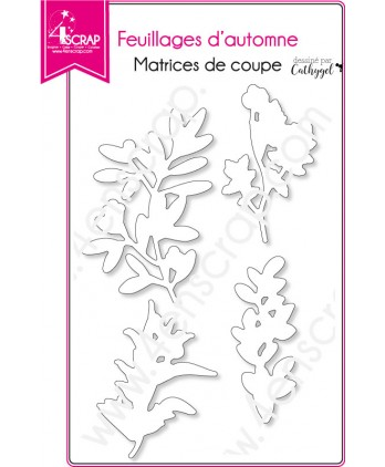 Cutting die Scrapbooking Card Making nature leaves - Fall foliages