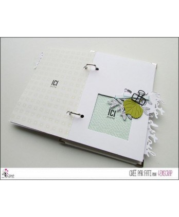 Matrice de coupe Scrapbooking Carterie nature - Pinces à dessin & punaises