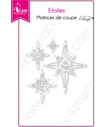 Cutting die Scrapbooking Card Making christmas - Stars