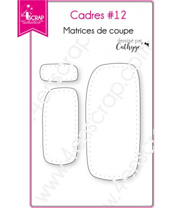Cutting die Scrapbooking Card Making shape dotted - Frames 12