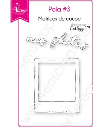 Matrice de coupe Scrapbooking Carterie photos - Pola 3