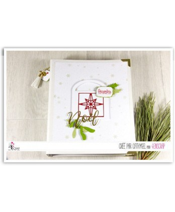 A customiser Scrapbooking Carterie - Classeur blanc