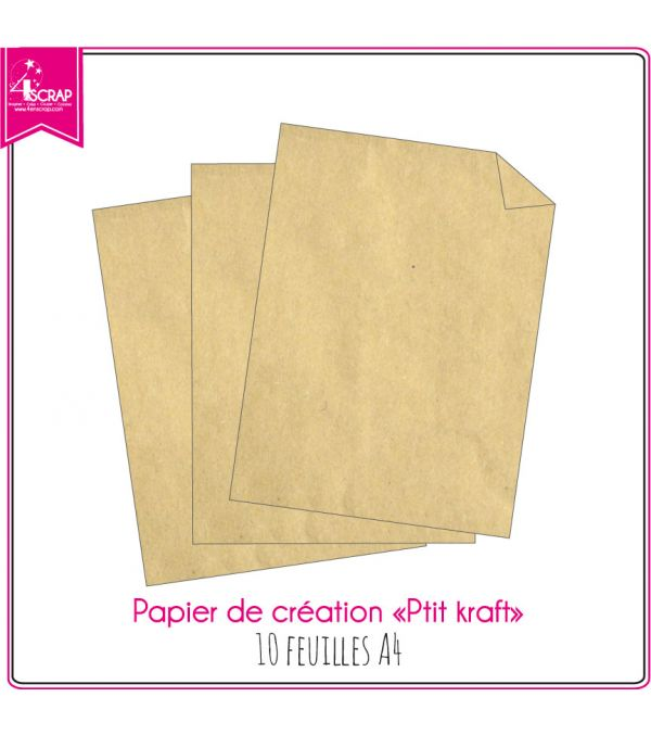 Small Kraft - 10 sheets