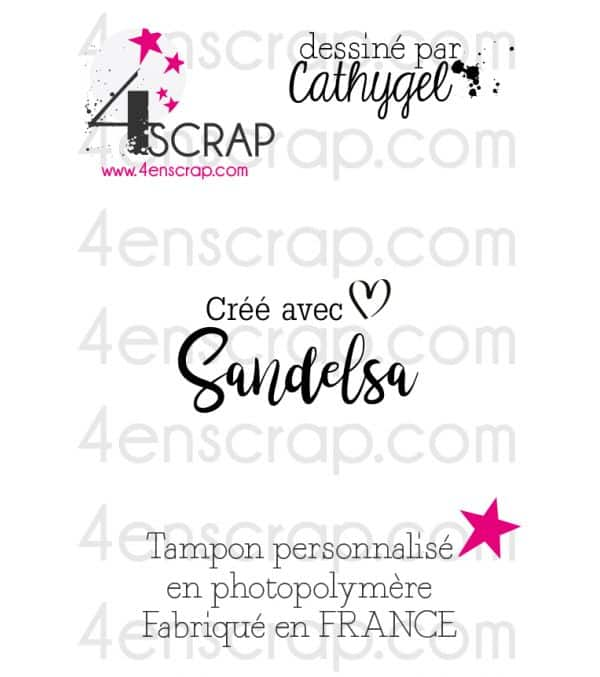 """Clear customized stamp Scrapbooking Card Making - Signature """"Nicole"""""""