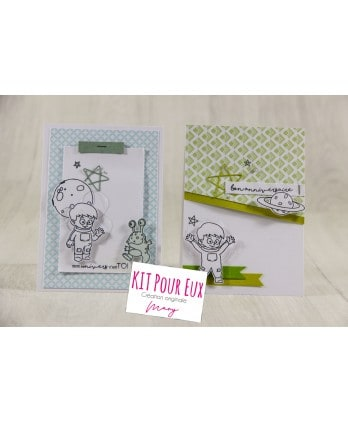 Kit Scrapbooking Card making Boy Birthday Card - For them