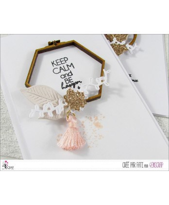 "To Customize Scrapbooking Card Making - Trio ""embroidery"" small shapes"