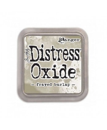 Ink Scrapbooking Carterie - Distress Oxide frayed burlap