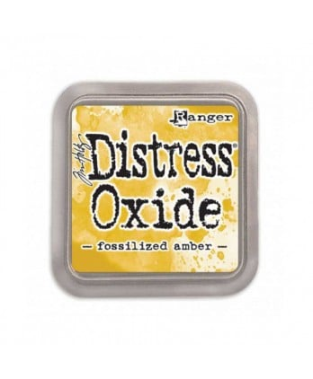 Encreur Scrapbooking Carterie -Distress Oxide Fossilized amber