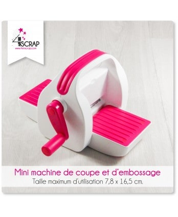 Outil Scrapbooking Carterie - Mini machine de coupe et d'embossage