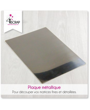 Tool Scrapbooking Card making - Metal plate