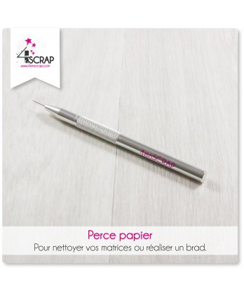 Outils Scrapbooking Carterie - Perce-papier