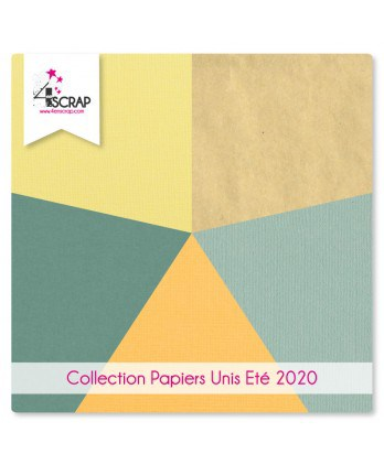 Plain Paper Pack Scrapbooking Card Making - Summer 2020