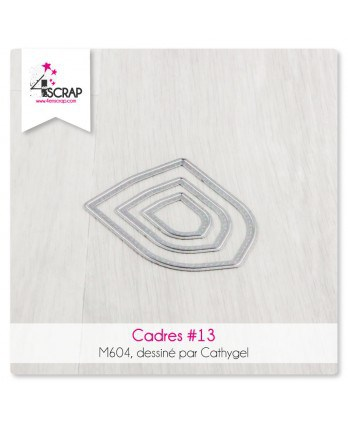 Cutting die Scrapbooking Card Making shape - Frames 13
