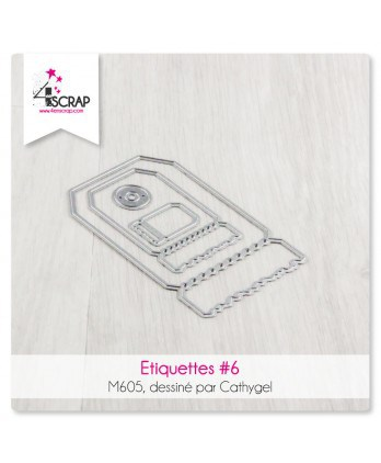 Cutting die Scrapbooking Card Making - Labels 6