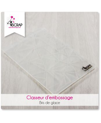 Embossing binder - Icebreaking effect