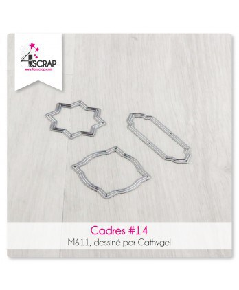Cutting die Scrapbooking Card Making - Frames 14