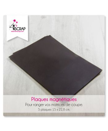 Accessory Scrapboking Cardmaking - Magnetic plates for dies