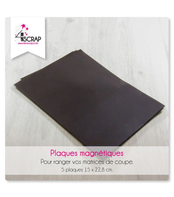 Magnetic plates for dies