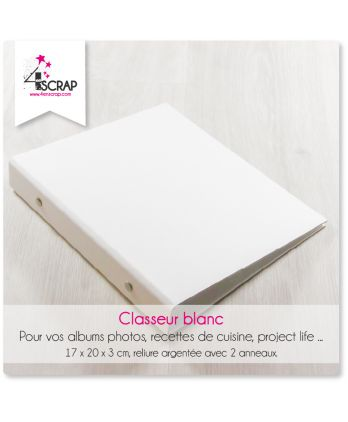 To customize Scrapbooking Card making - White folder
