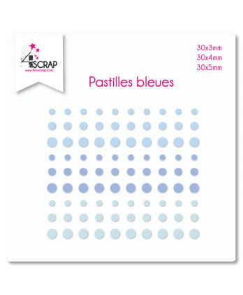 Embellishment Scrapbooking Card making Sticker - Blue dots