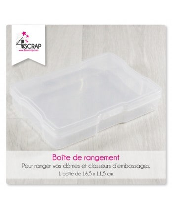 Accessory scrapbooking Cardmaking - Storage box