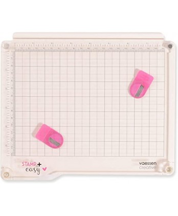 Tool Scrapbooking Card making Plate Precision Stamping - Stamp + Easy