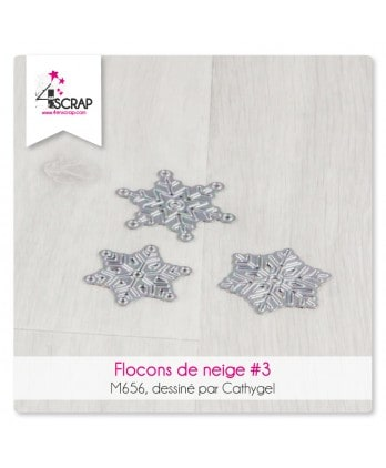 Cutting die Scrapbooking Card Making winter - Snowflakes 3