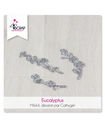 Cutting die Scrapbooking Card Making - Eucalyptus