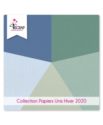 Plain Paper Pack Scrapbooking Card Making - Winter 2020