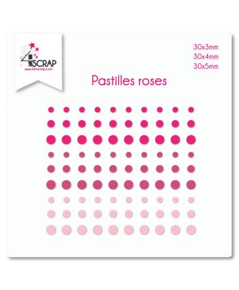 Embellishment Scrapbooking Card making Sticker - Pink dots