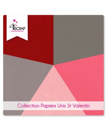 Plain Paper Pack Scrapbooking Card Making - Valentine's day