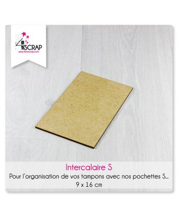 Accessory scrapbooking Cardmaking - Wood storage divider stamps and dies S