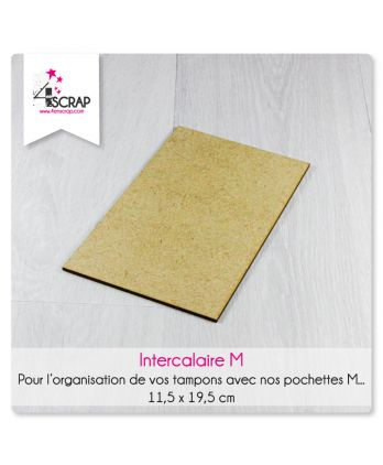 Accessory scrapbooking Cardmaking - Wood storage divider stamps and dies M