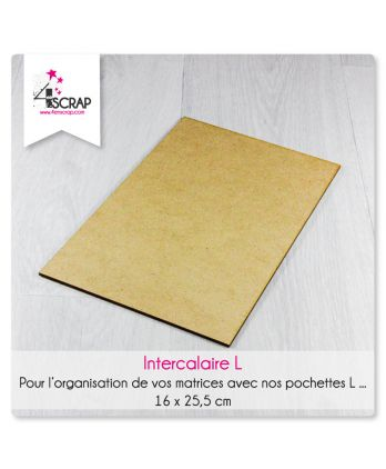 Accessory scrapbooking Cardmaking - Storage divider stamps and dies L